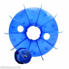 ELECTRIC MOTOR PLASTIC COOLING FAN - ELECTRIC MOTOR SPARES, FRAME SIZE 112