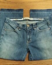 """Womens Size 30"""" GAP Stretch Low Rise Cropped Jeans"""