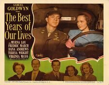 THE BEST YEARS OF OUR LIVES ( 1946,DVD DRAMA)