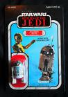 1983+ROTJ+Star+Wars+R2-D2+Sensorscope+VTG+Figure+MOC%21+UNPUNCHED%21+65+Back+on+card