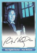 Doctor Who Series One Paul McGann as The Eighth Doctor A5 Auto Card