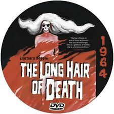 "The Long Hair of Death (1964) Sci-Fi  and Horror NR CULT ""B"" Movie DVD"
