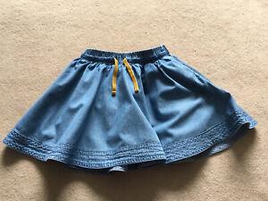 Mini Boden Denim Skirt (age 6-7)