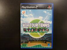 Sony PS2  WTA Tour Tennis  complet  PAL  Vers. Fr.