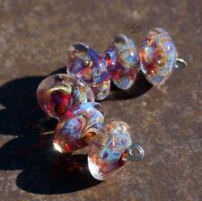 Carnevale - Handmade Glass Lampwork Bicone Beads - elasia SRA MTO
