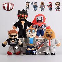 TUBE HEROES Dan TDM Sky Jeomeast Exploding Plush Toy Soft Stuffed Doll 7'' Gift