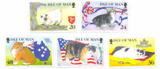 Mint Never Hinged/MNH Cats Manx Regional Stamp Issues