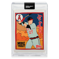 Topps PROJECT 2020 Card 63 - 2011 Mike Trout by Fucci - IN HAND