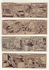 Mandrake the Magician by Falk & Fredericks - 24 comic strips, Complete Feb. 1965