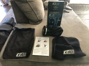 ICE THERAPY Bownet ICE20 Single Knee Wrap - Black