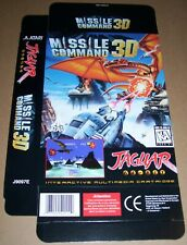 Atari Jaguar 64Bit Games Console Original Missile Command 3D Game Box NEW J9097E
