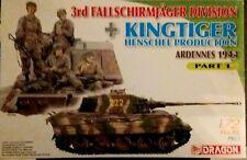DRAGON KINGTIGER AND FALLSCHIRMJAGER 1/72