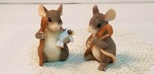 """Vtg Fitz and Floyd Charming Tails 'Shepherds"""" In Original Box"""