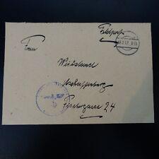 ALLEMAGNE DEVANT DE LETTRE FELDPOST BRIEF 19.02.1942