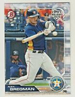 2019 Topps Bowman Holiday #TH-AB ALEX BREGMAN Houston Astros