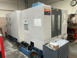 Mazak VTC-160A 2PC, Fusion 640M Control, Pallet Changer, New in 2002