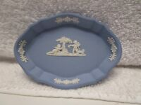 Wedgewood Light Blue and White Small Trinket Dish