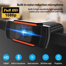 HD Webcam 1080P Kamera USB 2.0 3.0 Mit Mikrofon für Computer PC Laptop Notebook