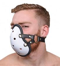 Musk Athletic Cup Muzzle Bondage Fetish Submissive Stuff W/ Your Favorite Scent