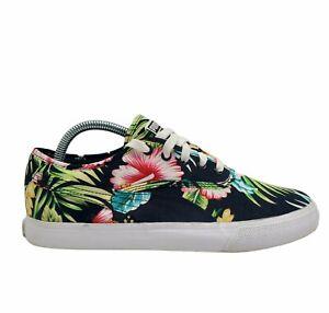 Puma Mens 360517-01 Hawaiian Floral Lace Up Multicolor Sneaker Shoes Size 7.5