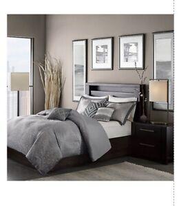 Madison Park Quinn MP12-1771 Full/queen 6 Piece Duvet Comforter Set -