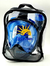 Dry Dive Full Face Snorkel Mask with Detachable Camera Mount by DAS Leben