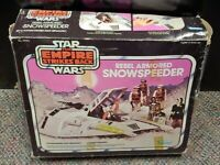 Star Wars Vintage ESB Snowspeeder Rare Original Box AUTHENTIC 1980 COMPLETE