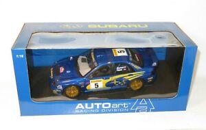 1/18 Autoart  Subaru Impreza WRC  SWRT  Rally Monte Carlo 2001  R.Burns / R.Reid