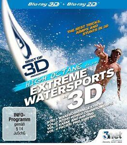 Extreme Water Sports - High Octane Vol. 1-4 [3D  + 2D Blu-ray/NEU/OVP]