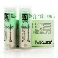 2X MXJO 3500MAH 20A IMR 18650 3.7V Battery Authentic Original Flat Top Batteries