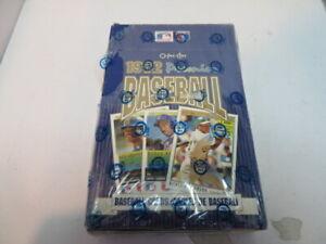 1992 O-PEE-CHEE Premier Baseball Card Box 36 Packs New Factory Sealed
