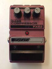 DOD Digitech FX82 Bass Compressor Sustainer Rare Vintage Guitar Effect Pedal