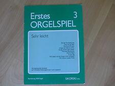 Willi Nagel **Erstes Orgelspiel ** für elektronische Orgel **