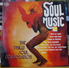THE PHILLY SOUL CORPORATION SOUL MUSIC AFRO SEXY COVER FRENCH LP MFP 1975