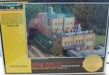 DPM GOLD - WOODS FURNITURE CO. BUILDING Kit N Scale 660 New Sealed Package