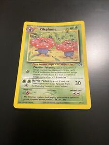 Rare Reverse Holographic Vileplume Southern Island 17/18 Pokemon Card