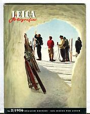 Leica Fotografie Magazine English Ed. No. 2 1956 Bert Dreher VG 032417lej