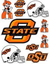 OSU Oklahoma State Cowboys Scrapbooking Craft Sticker Sheet Set #1