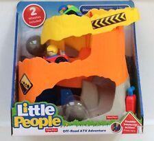 NIB Fisher-Price Little People Off Road ATV Adventure