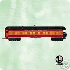 "HALLMARK KEEPSAKE ""LIONEL DAYLIGHT Observation Car"" ORNAMENT 2003 MIB"