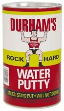 NEW CASE OF (6) DURHAM'S MODEL 4 4LB ROCK HARD WATER PUTTY 24 TOTAL LBS 6367387