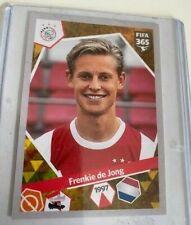 FIFA Panini Sticker DE JONG ROOKIE PERFECT FOR PSA GRADING AJAX BARCELONA 2017