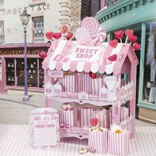 TALKING TABLES PINK SWEET SHOP DISPLAY STAND  WEDDING TREAT CART BIRTHDAY PARTY