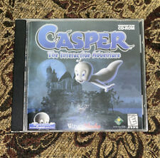 Casper: The Interactive Adventure Pc Cd kids haunted mansion friendly ghost game