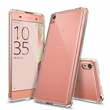 For Sony Xperia XA | Ringke [FUSION] Clear PC Shockproof Protective Case Cover