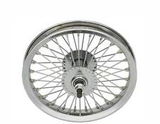 "Lowrider Bicycle 12-1/2"" Chrome 52 Spoke Front Wheel Chopper Cruiser Trike Bike"