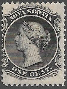 Nova Scotia Scott Number 8 Queen Victoria F NG Cat $5 #2