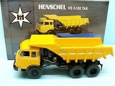 NOREV / HENSCHEL HS 3 - 180 TAK BENNE JAUNE 1/43 NEWS 07/2013