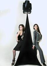 Scrim-King SS-SPK-B Speaker Stand Scrim Cover - DJ - (4' to 7')