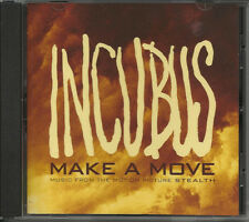 INCUBUS Make a Move ULTRA RARE RADIO PROMO DJ CD single STEALTH MOVIE 2005